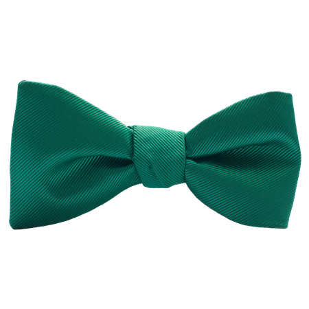 Emerald Modern Solid Bow Tie