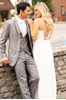 Picture of Heather Grey Slim Fit Suit